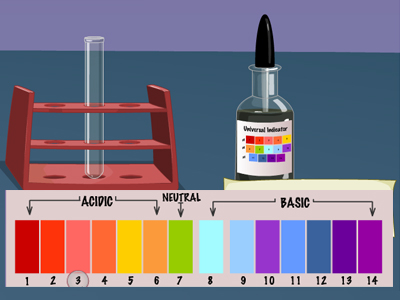 Determine-pH-with-pH-indicator-strips