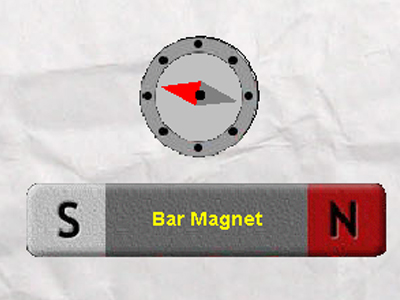 To-study-the-field-lines-formed-around-a-bar-magnet
